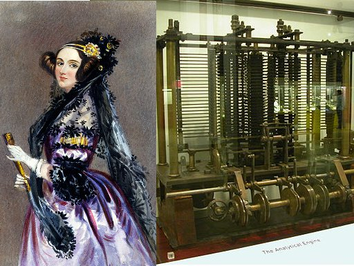 "Ada Lovelace och ""The analytical Engine"""