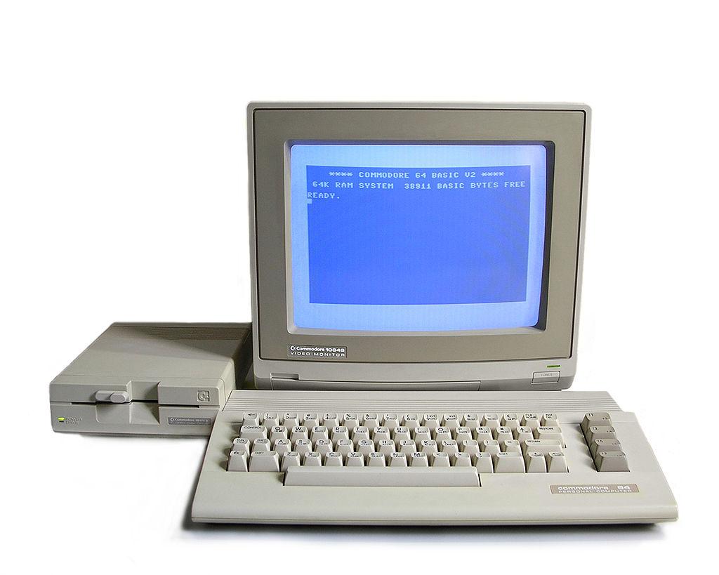 Commodore 64, den populäraste hemdatorn på 80-talet.