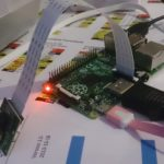 Raspberry Pi med kameramodul som övervakning