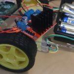 Styra motorer med L298-kort, Raspberry Pi och RaspiRobotBoard-biblioteket