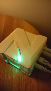 Zipabox inkopplad och online