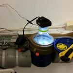 Vattenmätning med Raspberry Pi och webkamera