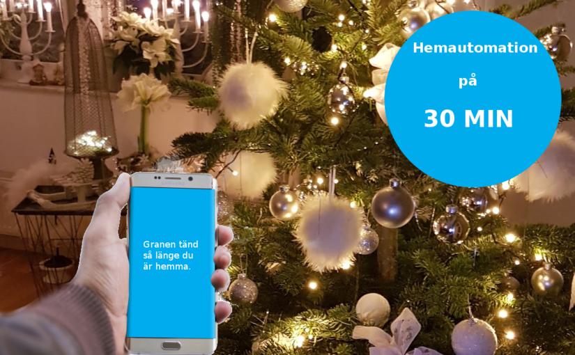 Gästblogg: Styr belysningen automatiskt när en specifik mobil finns i närheten och få en lampa att blinka vid en viss tidpunkt