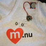 Dekorera med elektrisk textilslöjd (första varianten)