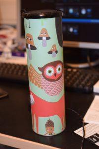 Pimpad med presentpapper