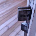 Detektera om dörren är låst